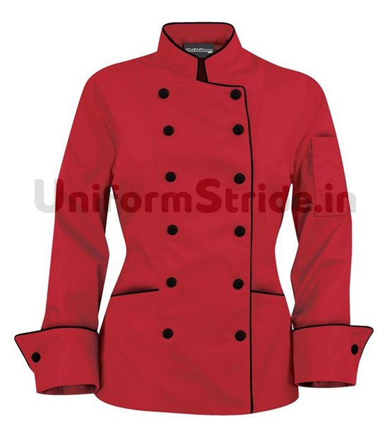 Hotel Chef Coat Men Red HO101