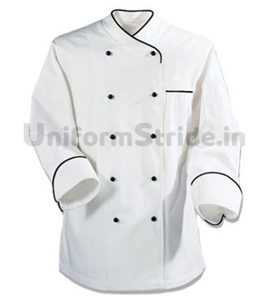 Hotel Chef Coat Men White Full Sleeves HO1004