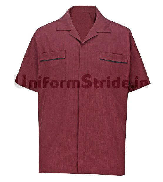 House Keeping Men Shirt Hotel Service Top HO1014