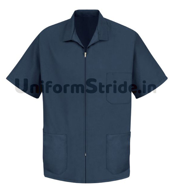 House Keeping Men Smock Work Wear Blue HO1015