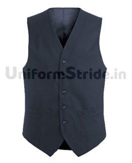 Unisex Waist Coat Hotel Waiter Receptionist Blue HO1006