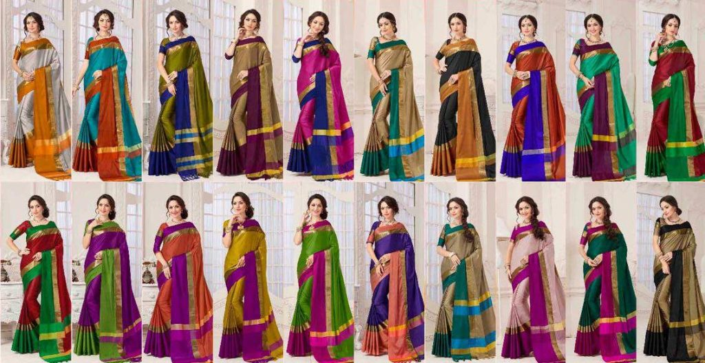 Uniform-Saree-Bulk-Saris-Wholesale-Saadi-Pudavai-Selai-Cheera