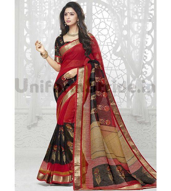 Bulk Wholesale Uniform Sari Cheap Price Receptionist SHS822
