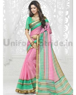Uniform Saris Regular Printed Bulk Orders SHS131