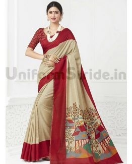 Plain Uniform Saris Printed Restaurant Clubs Office SHS08
