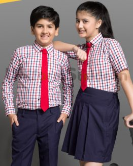 Bombay Dyeing Kids School Uniform Shirt and Skirt HU5