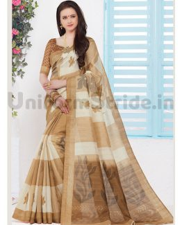 College Department Uniform Sarees Online SID8048