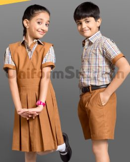 ICSE Board Kids School Uniform Wholesale HU10
