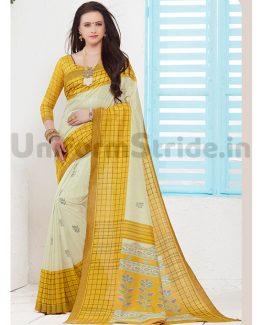 Siddharth Uniform Sari Vasundhra Pattu Showroom SID5001