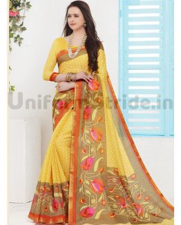 Teachers Uniform Sarees Online Schools Pollachi SID3014