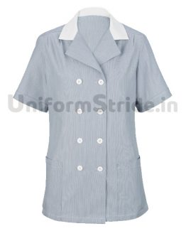 Hotel Women House Keeping Gray Top HO1012