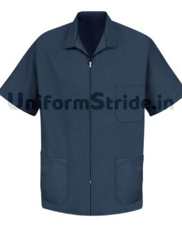 House Keeping Men Smock Work Wear Blue HO1015