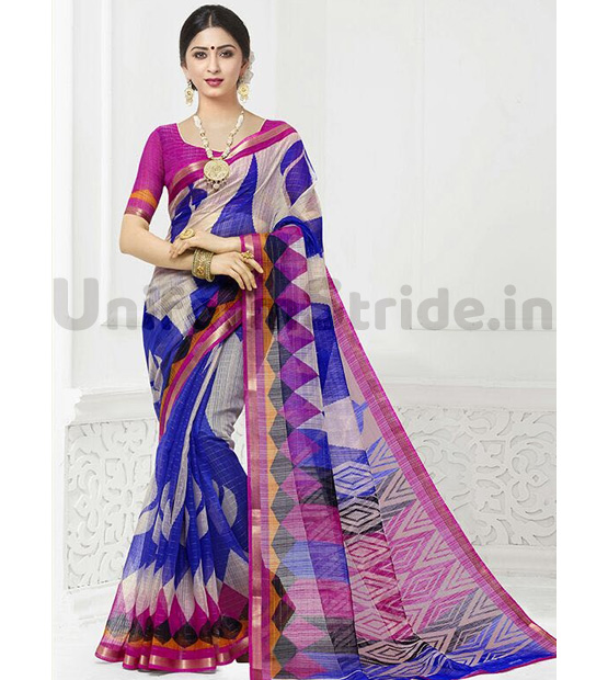 All Category Uniform Sharee Online Fancy Printed SHS81